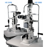 HS-5500 / 5000 Slit Lamp Halogen & LED